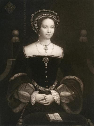 Princess Mary, Later Queen Mary I, C1537--Giclee Print