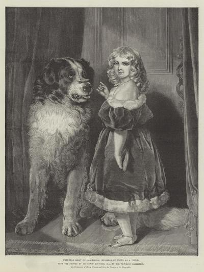 Princess Mary of Cambridge (Duchess of Teck) as a Child, in the Victorian Exhibition-Edwin Landseer-Giclee Print