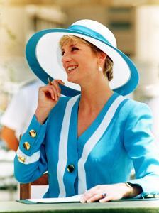 Princess of Wales on Her 1992 Tour of Egypt May 1992