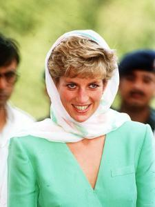 Princess of Wales on Her Tour of Pakistan September 1991