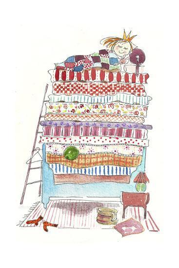 Princess Pea-Effie Zafiropoulou-Giclee Print
