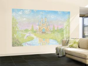Princess Small Huge Mural Art Print Poster