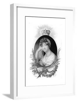 Princess Sophia of Gloucester-Scriven-Framed Giclee Print