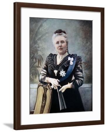 Princess Victoria Adelaide Mary Louise, Late 19th Century--Framed Giclee Print
