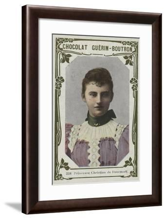Princesse Christian De Danemark--Framed Giclee Print