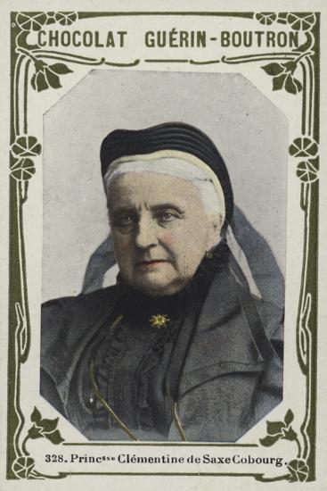 Princesse Clementine De Saxe Cobourg--Giclee Print