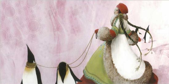 Princesse Nukka-Misstigri-Art Print