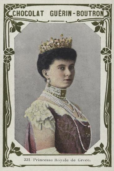 Princesse Royale De Grece--Giclee Print