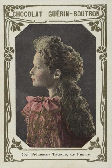 Princesse Tatiana, De Russie--Giclee Print