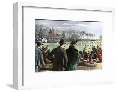 Princeton-Yale Football Match, 1889