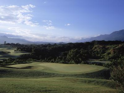Princeville Golf CLub The Prince Course, Hole 14-Stephen Szurlej-Premium Photographic Print