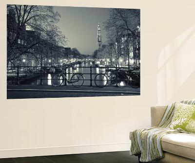 Prinsengracht and Wsterkerk, Amsterdam, Holland-Jon Arnold-Giant Art Print