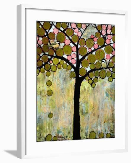 Print Art Chickadee Tree-Blenda Tyvoll-Framed Art Print