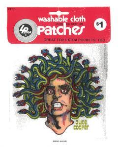 Alice Cooper Vintage Patch by Print Mafia