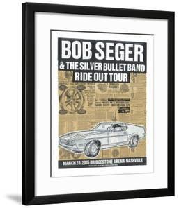 Bob Seger Ride Out Tour by Print Mafia