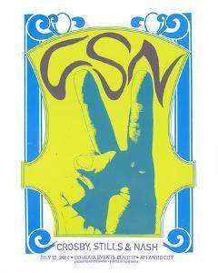 Crosby, Stills & Nash by Print Mafia