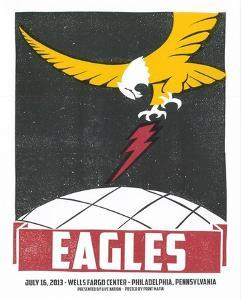 Eagles Philadelphia by Print Mafia