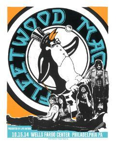 Fleetwood Mac Philly by Print Mafia