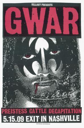 Gwar: Jesus/Gene by Print Mafia