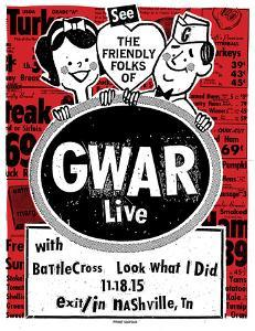 Gwar by Print Mafia