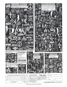 Heavy Metal Jewelry by Print Mafia