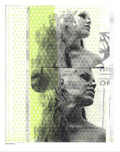 Mountain Girl by Print Mafia