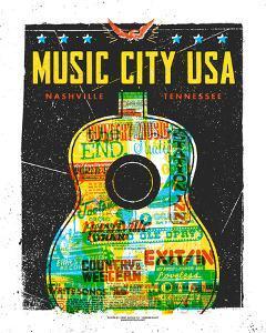 Music City USA by Print Mafia
