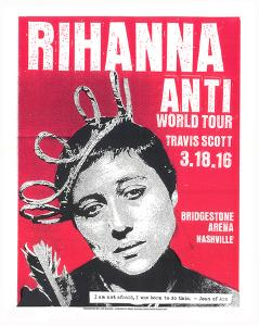 Rihanna by Print Mafia