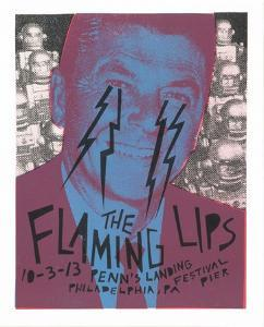 The Flaming Lips by Print Mafia
