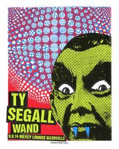 Ty Segall by Print Mafia