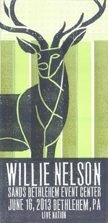 Willie Nelson by Print Mafia