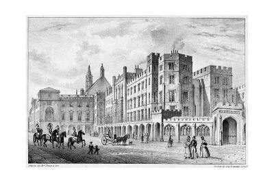 Print of Houses of Parliament before 1834 Fire--Giclee Print