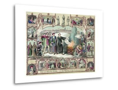 Print of the Life of Martin Luther and the Heroes of the Reformation