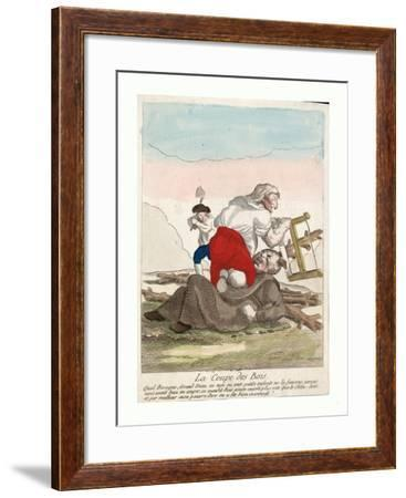 Print Shows a Member of the Third Estate--Framed Giclee Print
