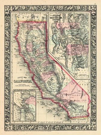 1864 United States California Utah North America California