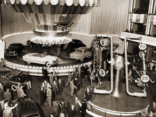 1949-model-ford-cars-introduced-to-the-public-in-grand-ballroom-of-the-waldorf-astoria-hotel-nyc
