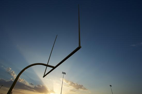 33ft-american-football-goal-posts-or-uprights-at-sunset