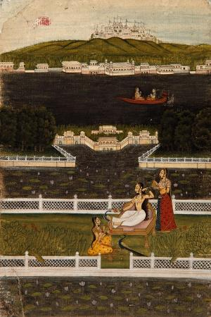 a-beautiful-woman-on-a-lake-terrace-c-1770
