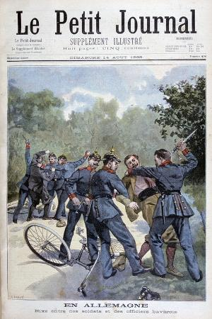 a-brawl-between-german-soldiers-and-bavarian-officers-germany-1898