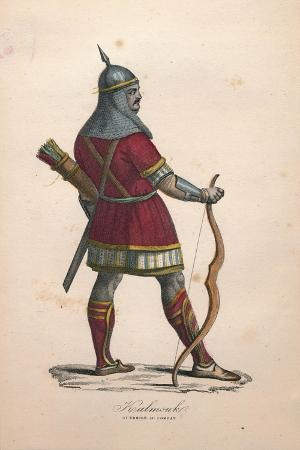 a-kalmouk-warrior-in-combat-1900s