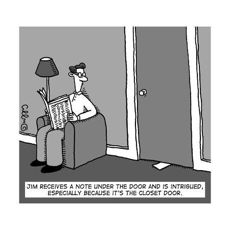 a-man-receives-a-note-from-under-the-closet-door-new-yorker-cartoon