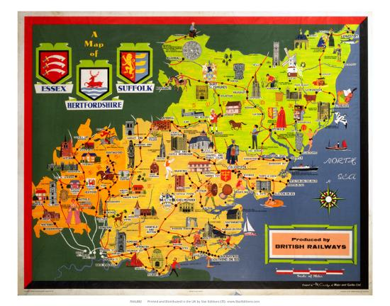 a-map-of-essex-suffolk-and-hertfordshire-br-er-c-1950s