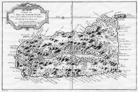 a-map-of-st-lucia-the-west-indies-1758