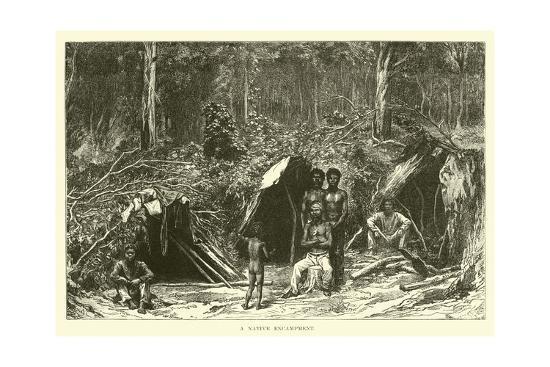 a-native-encampment