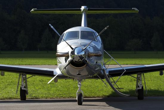 a-pilatus-pc-12-private-jet
