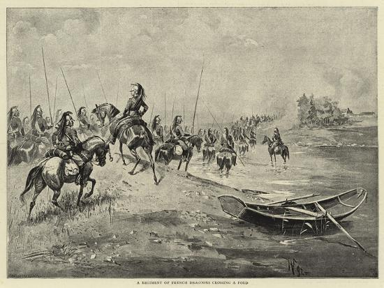 a-regiment-of-french-dragoons-crossing-a-ford