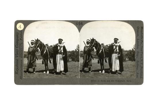 a-sheikh-and-his-bodyguard-syria-1900s