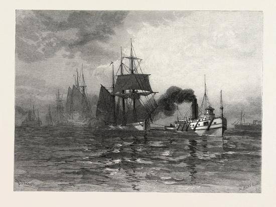 a-tow-on-lake-st-clair-canada-nineteenth-century