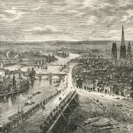 a-view-of-rouen-normandy-in-the-nineteenth-century-from-french-pictures-by-rev-samuel-g