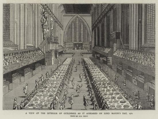 a-view-of-the-interior-of-guildhall-as-it-appeared-on-lord-mayor-s-day-1761